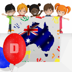 Australian boys names beginning with D