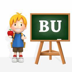 Boys names beginning with BU