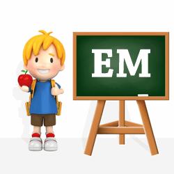 Boys names beginning with EM