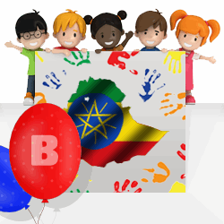 Ethiopian boys names beginning with B