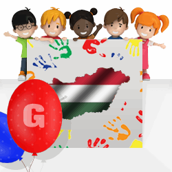 Hungarian boys names beginning with G