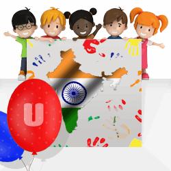 Indian boys names beginning with U