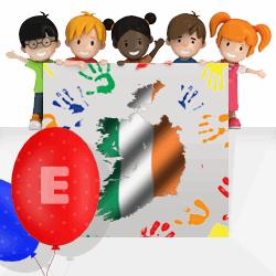 Irish boys names beginning with E