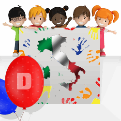 Italian boys names beginning with D