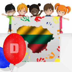 Lithuanian boys names beginning with D