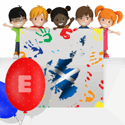 Scottish boys names beginning with E