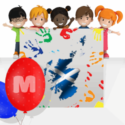 Scottish boys names beginning with M