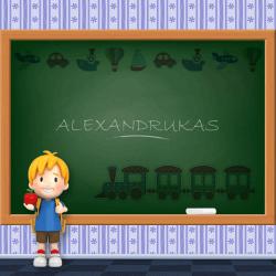 Boys Name - Alexandrukas