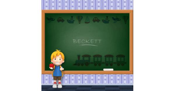 Boys Name - Beckett