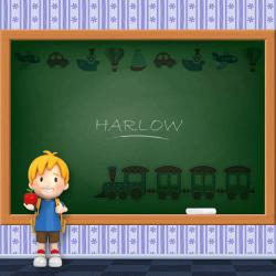 Boys Name - Harlow