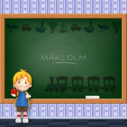 Boys Name - Maklolm