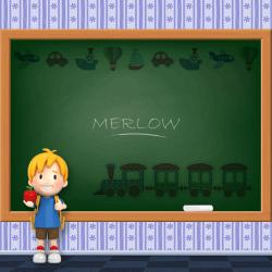 Boys Name - Merlow