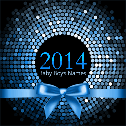 The top 100 baby boys names from 2014.